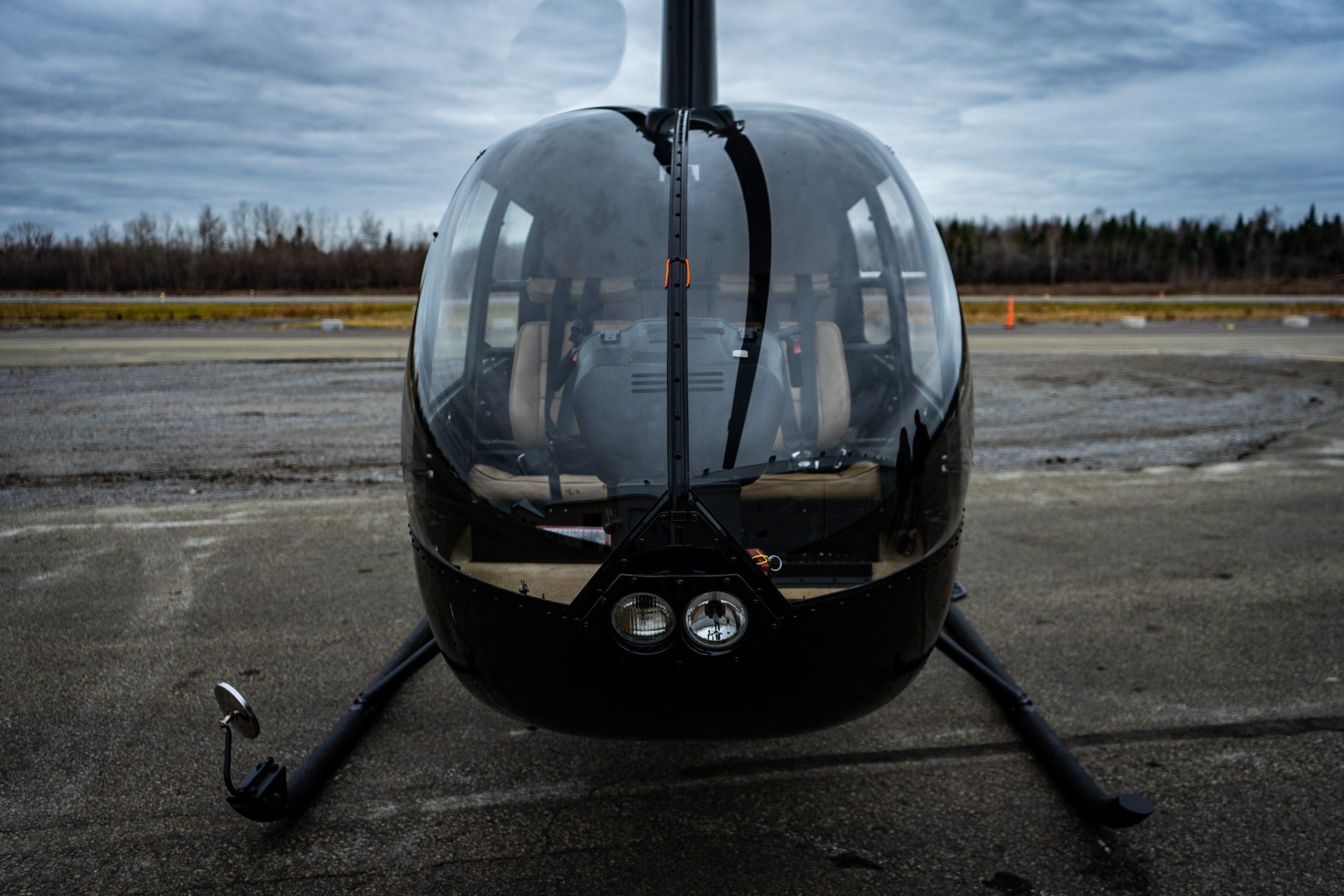 Hélicoptère R44